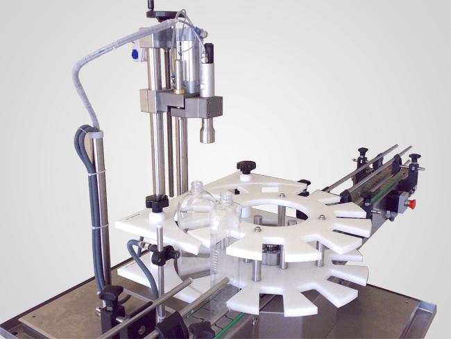 دستگاه درب بند نیمه اتوماتیک