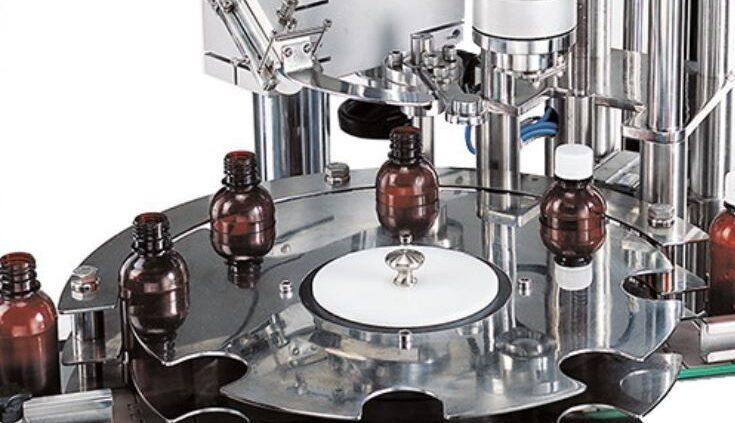 دستگاه پرکن شربت مایع دارویی